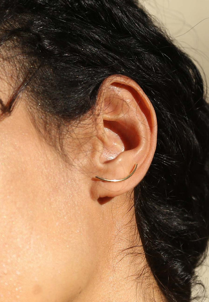 Simple and minimal earcuffs - Adriana Chede Jewellery