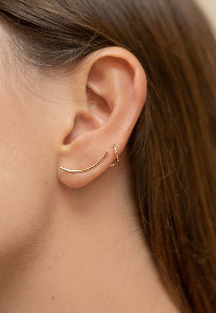 Petite Earcuffs in 18ct Gold Adriana Chede Jewellery