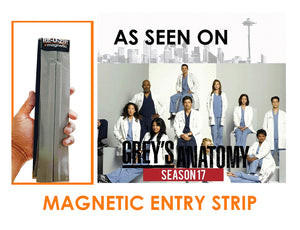 RE-U-ZIP Magnetic Entry Strip Featured on Grey's Anatomy Season 17