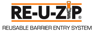 RE-U-ZIP DUST BARRIER ENTRY SYSTEMS
