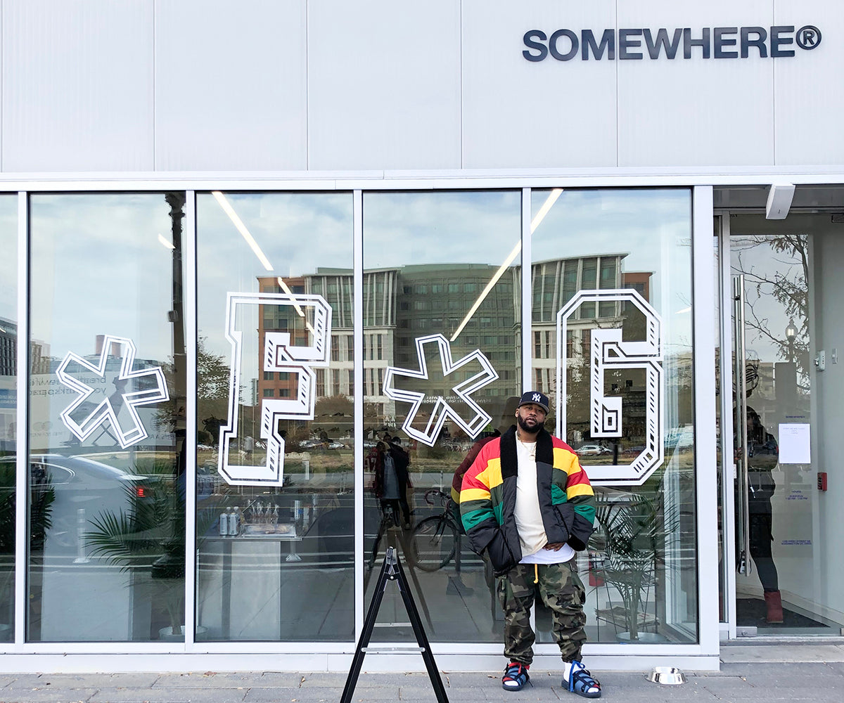 SOMEWHERE® X JOEFRESHGOODS