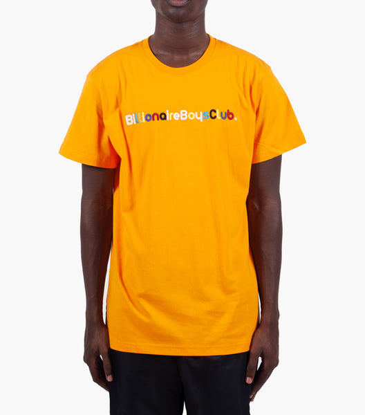 BILLIONAIRE BOYS CLUB BILLIONAIRE SHORT SLEEVE KNIT ORANGE