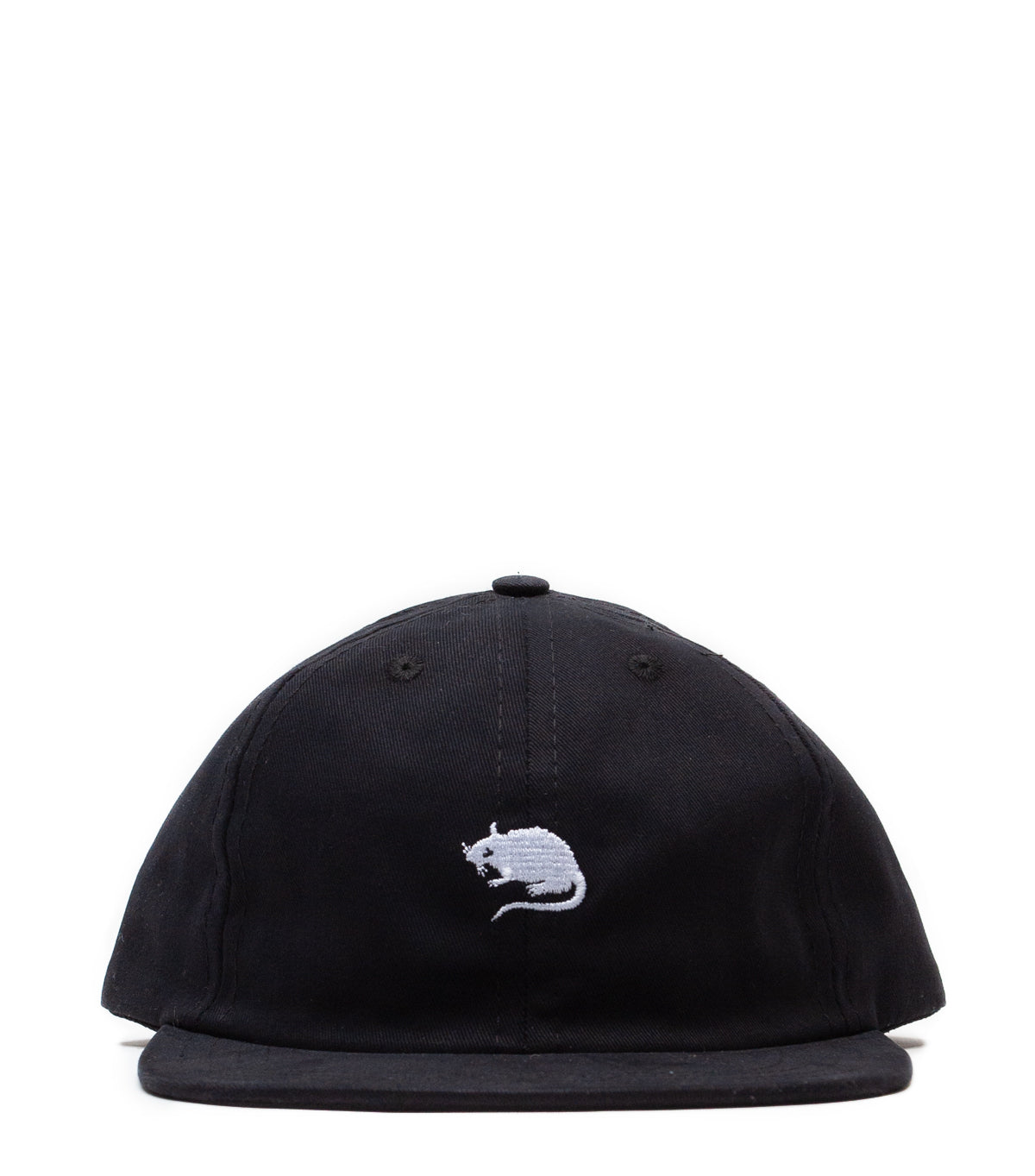 HUMAN MADE 6PANEL TWILL CAP #3 BLACK