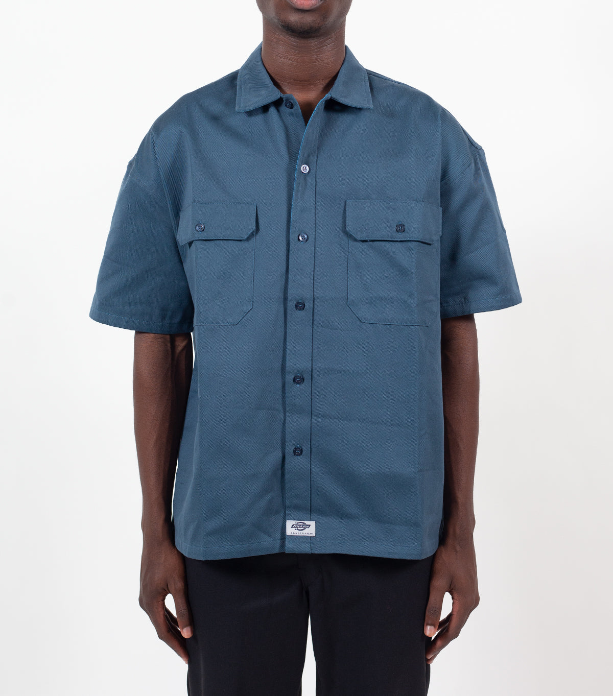 Dickies Construct Work Shirt Blue