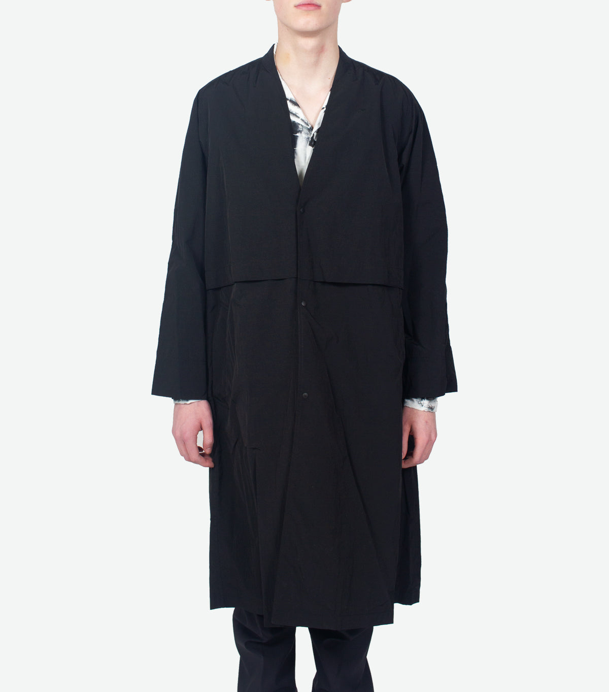 SASQUATCHFABRIX VENTILATION NYLON COAT BLACK