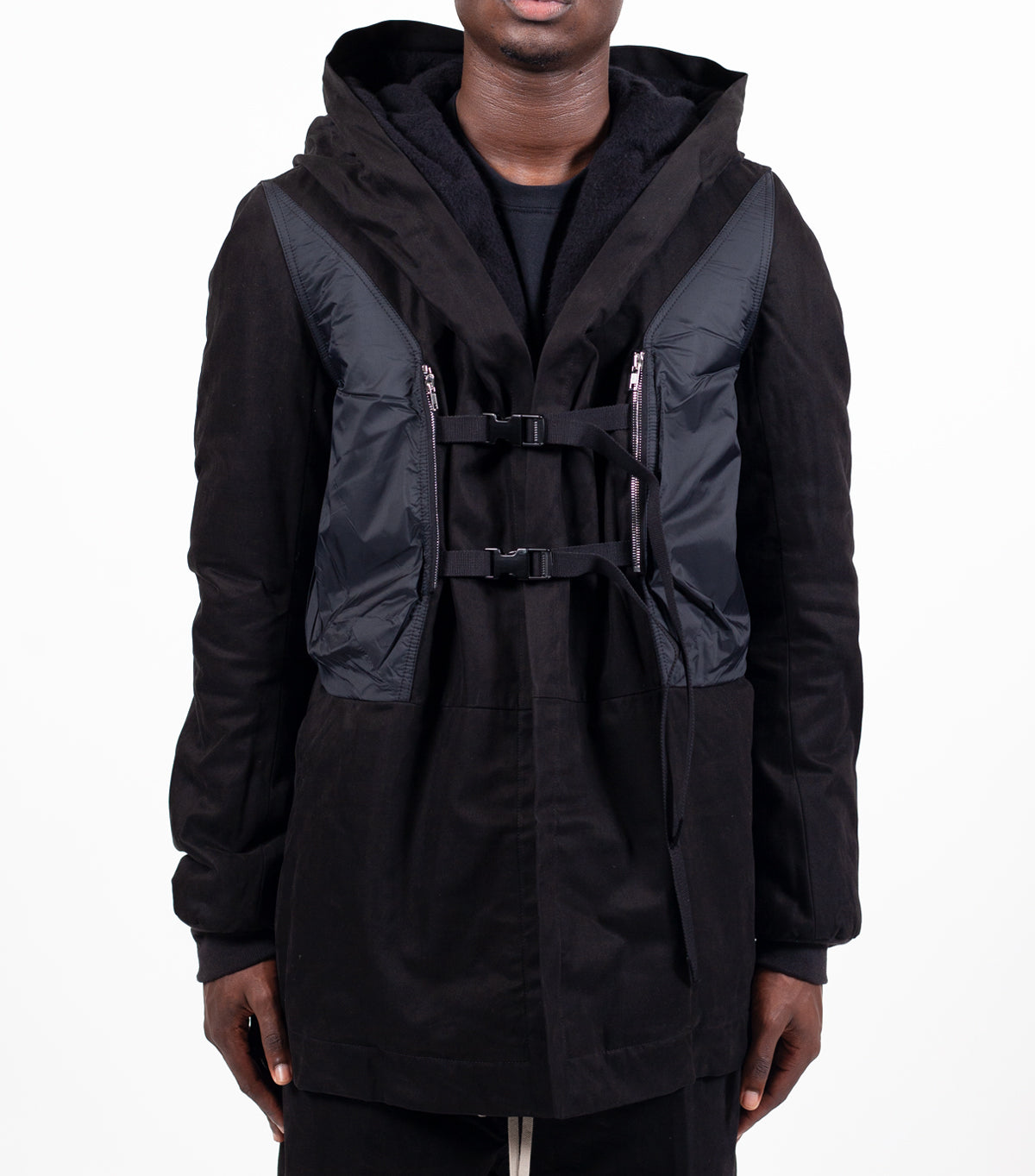 RICK OWENS DRKSHDW CONSTRAINT JACKET BLACK