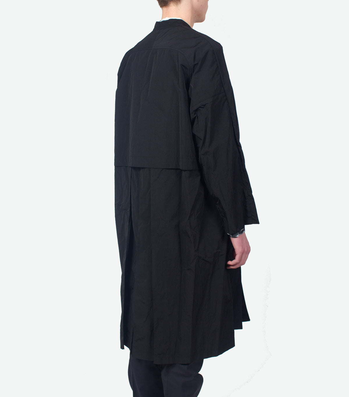 SASQUATCHFABRIX VENTILATION NYLON COAT BLACK | somewhereofficial.