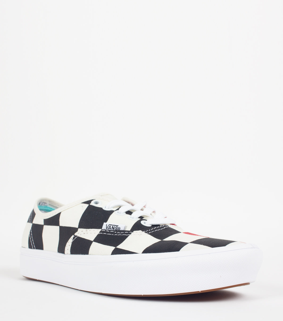 VANS | VANS COMFYCUSH HALF BIG CHECKER BLACK RED AUTHENTIC | SOMEWHERE®