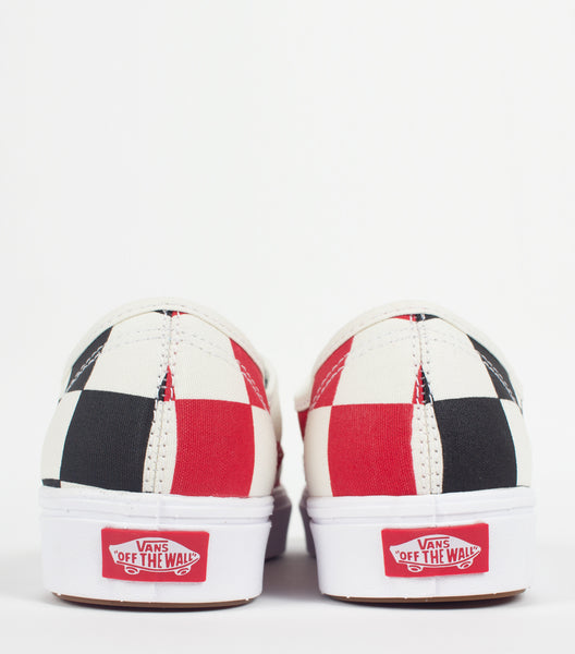 VANS | COMFYCUSH HALF BIG CHECKER BLACK RED AUTHENTIC | SOMEWHERE®