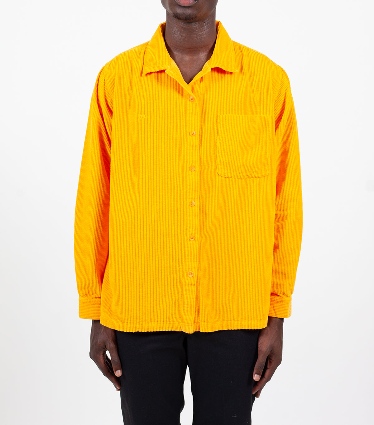 ERL Corduroy Shirt Orange