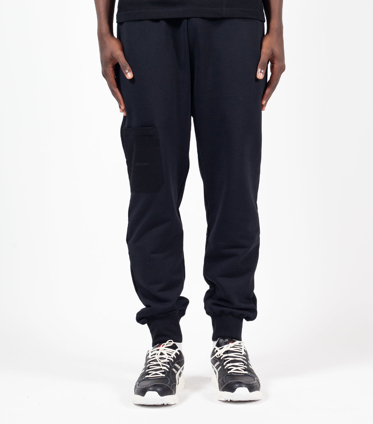 A-COLD-WALL* Logo Embroidery Sweat Pant Black