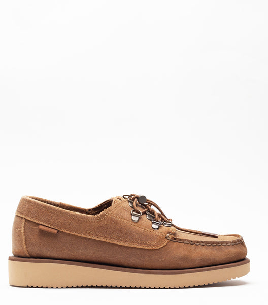 Sebago x Engineered Garments Overlap Brown