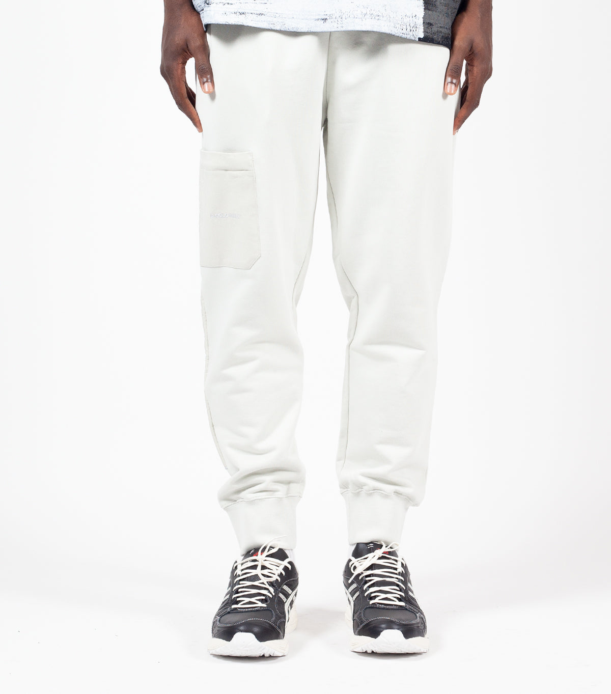 A-COLD-WALL* Logo Embroidery Sweat Pant Grey