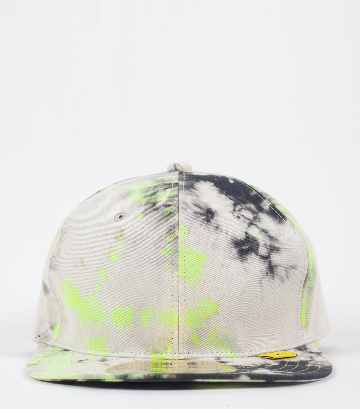 KAPITAL KOUNTRY BASEBALL CAP ASHBURY DYED BLACK YELLOW