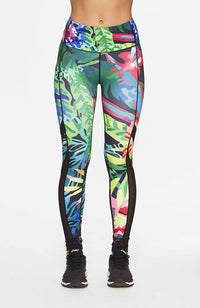 Tropical Yoga Leggings - Prize Fighter Australia