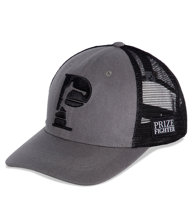 grey trucker hat - Prize Fighter Australia