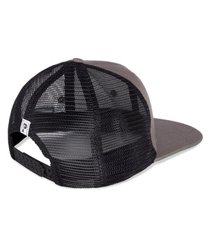 Black Flat brim trucker Cap - Prize Fighter Australia