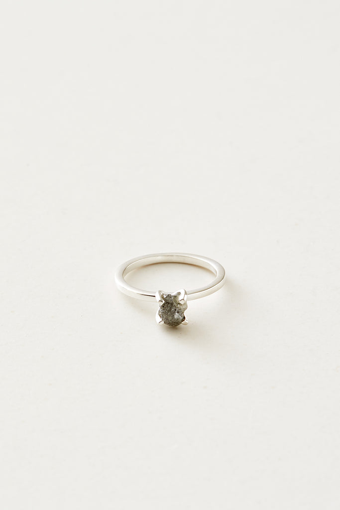 STUDIO LOMA, ANNEBELLE ring silver grey