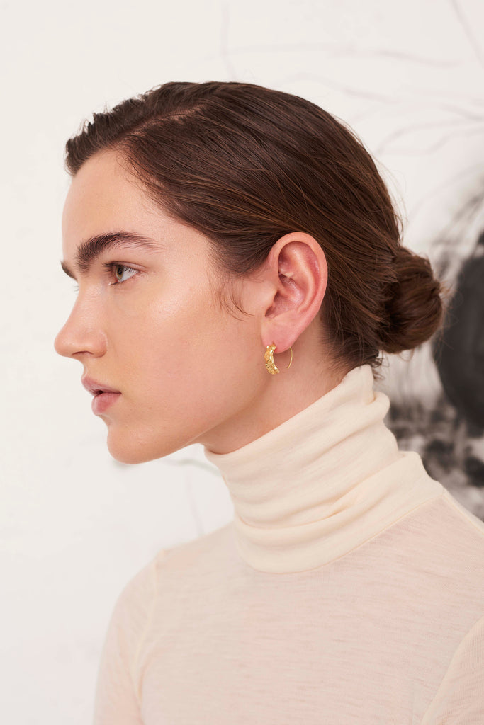 STUDIO LOMA - EMMELY earring, large, gold