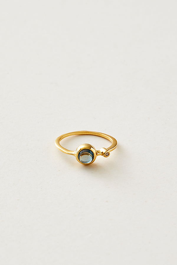 STUDIO LOMA - AMELIA London blue topaz