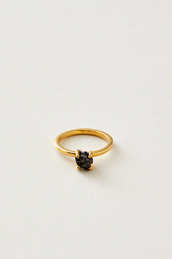 STUDIO LOMA - ANNEBELLE ring, black