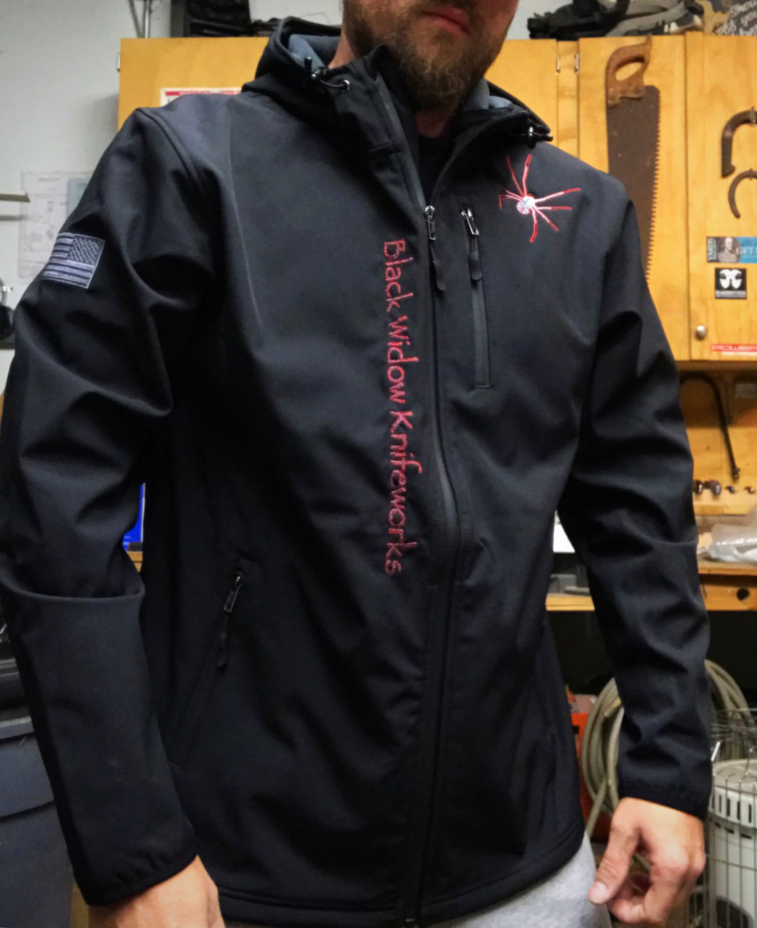 Black Widow Knifeworks Soft Shell Jacket *PRE ORDER*