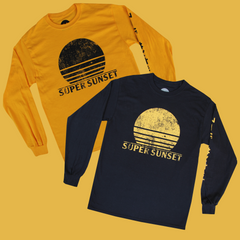 SUPER SUNSET LONGSLEEVE T-SHIRT