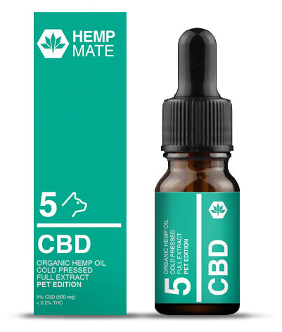 HempMate CBD-Öl PET 10ml 5% CBD (500mg CBD)