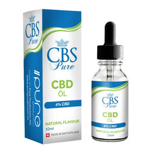 Pure Production CBS CBD Öl 10ml 4% CBD (400mg CBD)