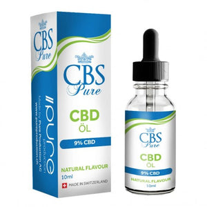 Pure Production CBS CBD Öl 10ml 9% CBD (900mg CBD)