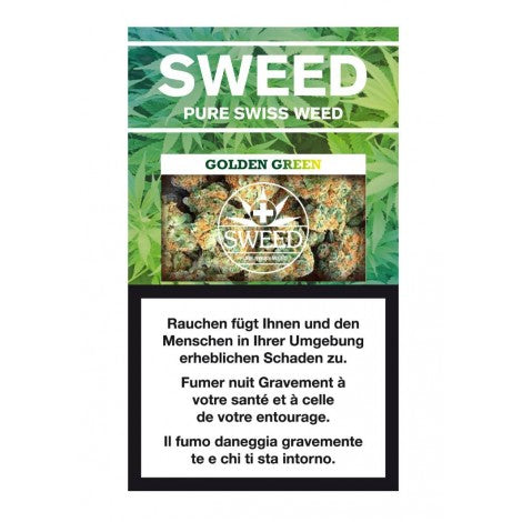 SWEED Golden Green CBD Hanf Blüten 2g