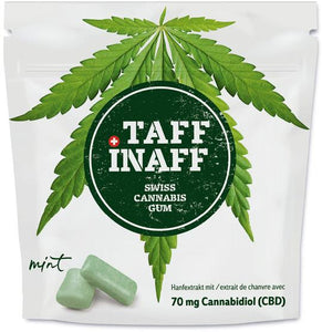 weedsolutions TAFF INAFF SWISS Cannabis GUM