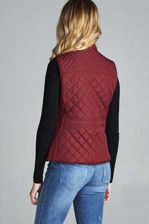 Quilted Padding Vest - Radiant