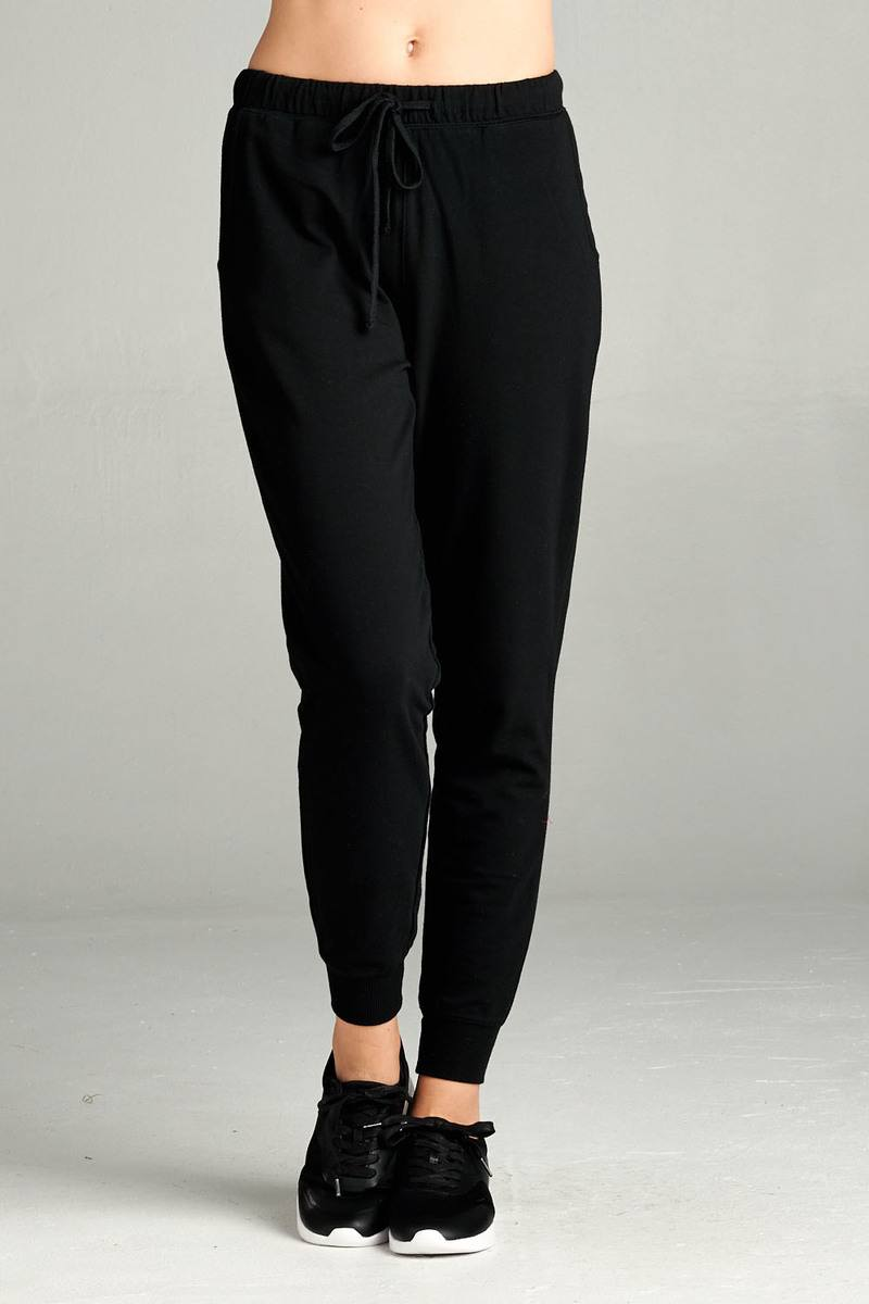 French Terry Jogger Pants - Radiant