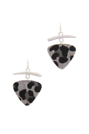 Animal Print Drop Earring - Radiant