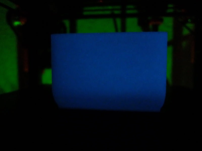 PLA Glow In The Dark 1,75mm - Blau - 1,0kg - PLA Glow in the Dark - Ruhr3D®