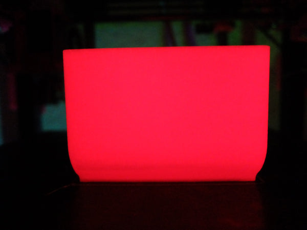 PLA Glow In The Dark 1,75mm - Rot - 1,0kg - PLA Glow in the Dark - Ruhr3D®