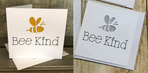 'Bee Kind' Cards