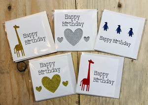 'Birthday' Cards