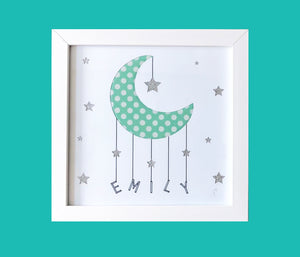 Personalised Moon & Stars