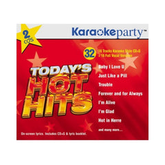 Karaoke Party Songs: Today's Hot Hits - 2 CD [16-Songs CD+G]