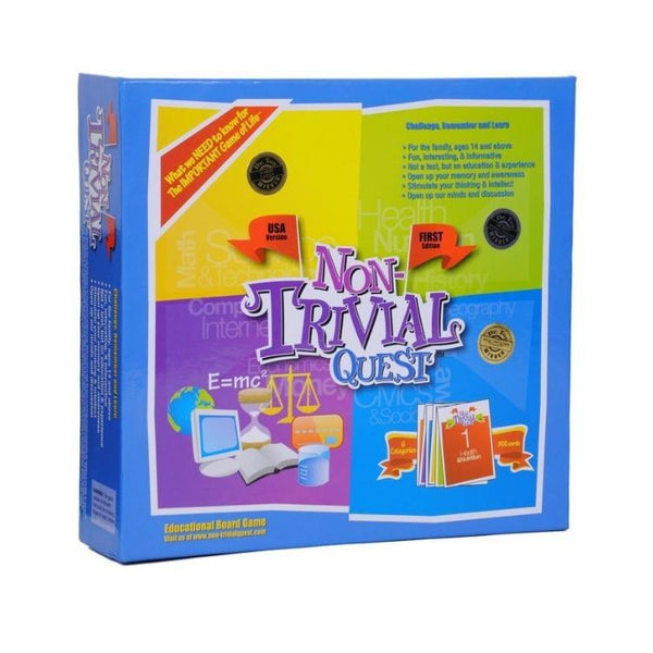 Non Trivial Quest - Trivia Fun and Educational Board Game