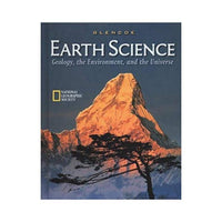 Glencoe Earth Science Geology Environment Universe ISBN 0078215919