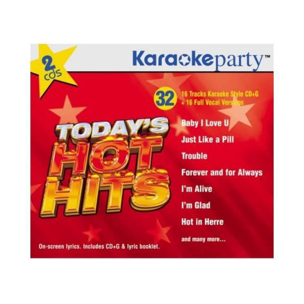 Karaoke Party Songs: Today's Hot Hits