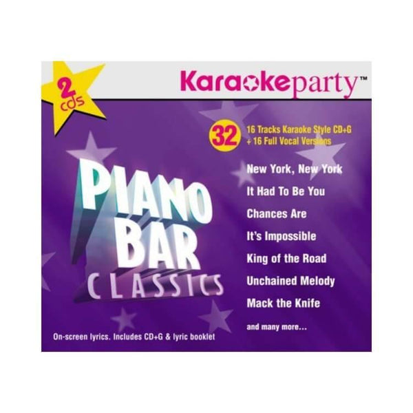 Karaoke Party Songs: Piano Bar Classics
