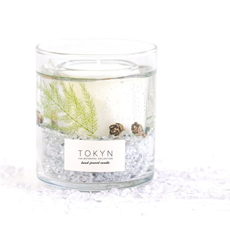 Botanical Collection - FOREST MIST - Pewter Glass