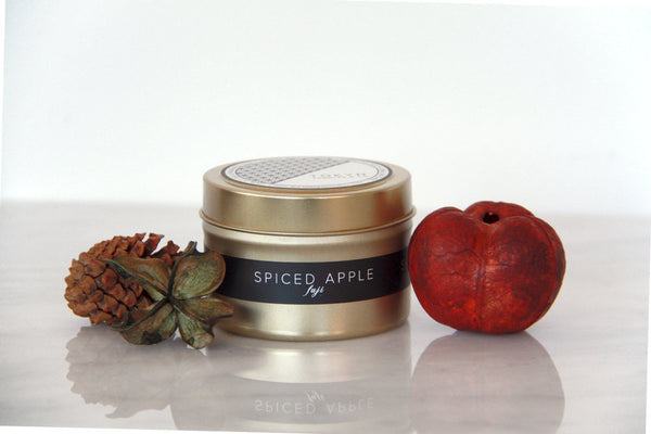 Gold Travel Tin ~ Seasonal Exclusive ~ Fuji Spiced Apple