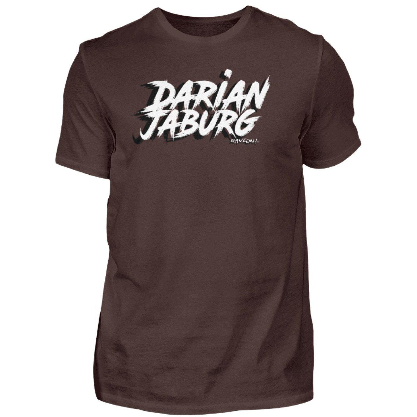 Darian Jaburg - BS Rec.Black - Rave On!® - Herren Premiumshirt Herren Premium Shirt Brown / S - Rave On!® der Club & Techno Szene Shop für Coole Junge Mode Streetwear Style & Fashion Outfits + Sexy Festival 420 Stuff