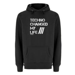 Techno Changed  my Life - Rave On!®  - Unisex Premium Kapuzenpullover