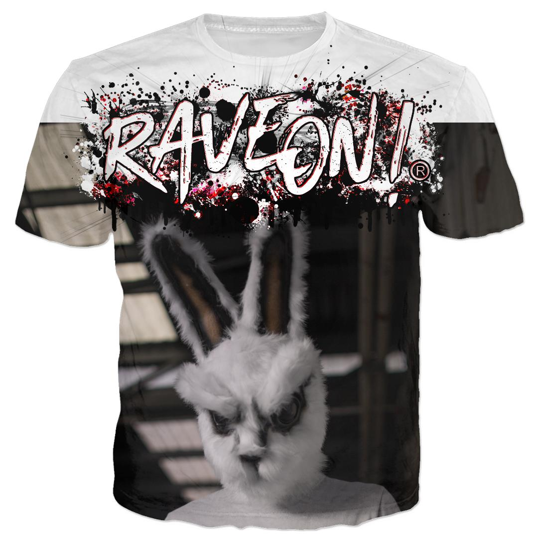 Rave On!® - BassHas´All-Over-360Print T-Shirts X-Small / Premium - Rave On!® der Club & Techno Szene Shop für Coole Junge Mode Streetwear Style & Fashion Outfits + Sexy Festival 420 Stuff